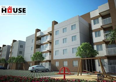 Apartamentos de 03 Quartos com Suíte, Sacada e Churrasqueira - São José dos Pinhais