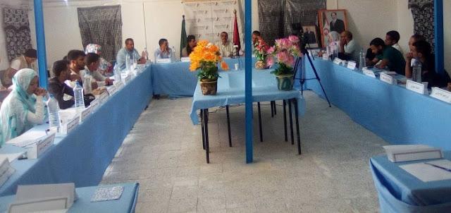 رئيس المجلس الوطني يشرف على تنصيب اللجنة التحضيرية للمؤتمر الثالث لإتحاد الطلبة الصحراويين
