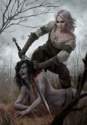 صور شخصية سيري من لعبة the Witcher 3