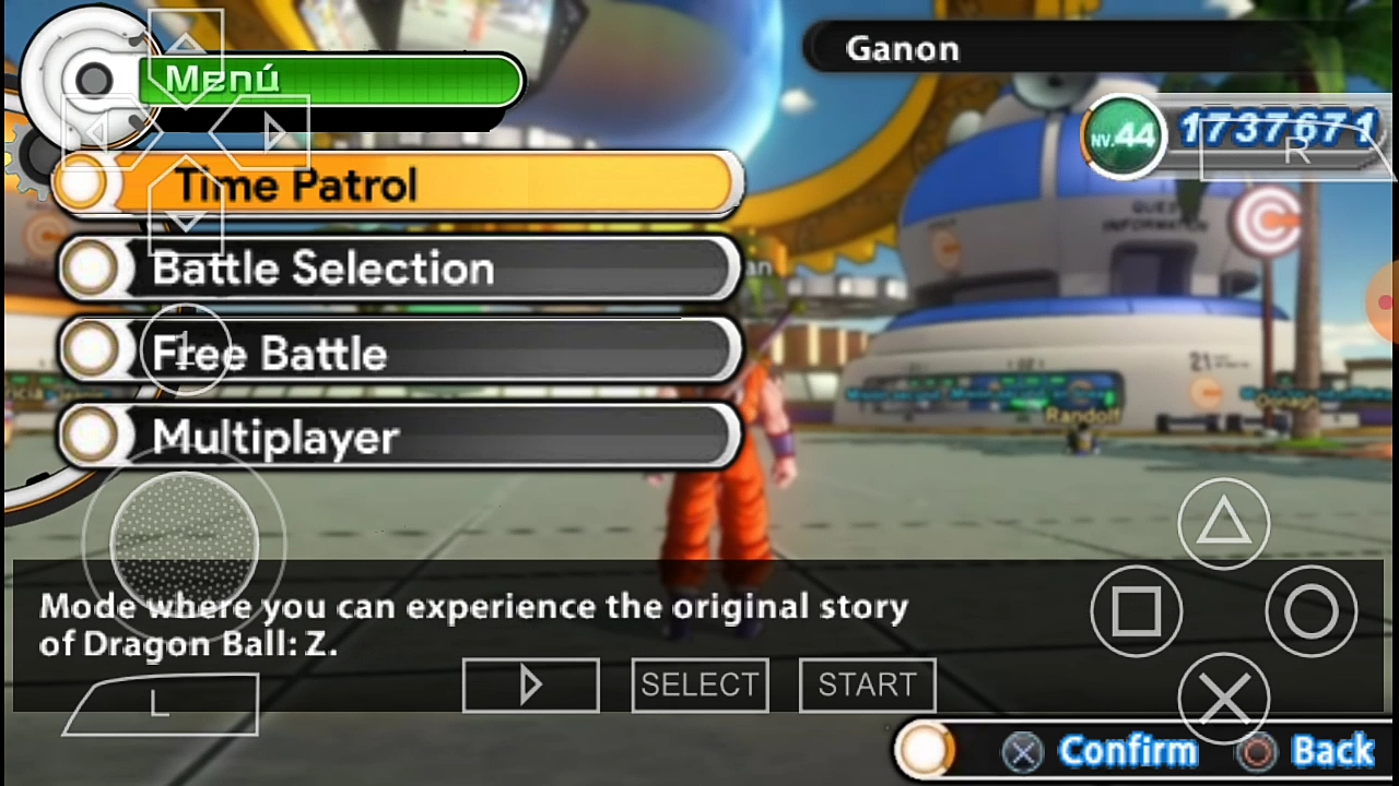 XV2 mod for Android PSP