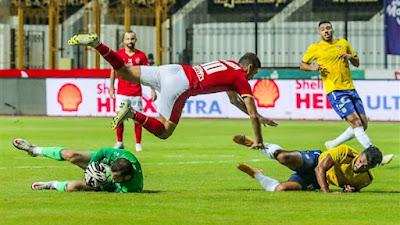 اهداف مباراة الاهلي والاسماعيلي (1-1) الدوري المصري