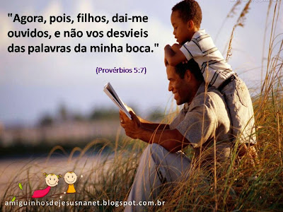 Versículo bíblico para meditação provérbios 5