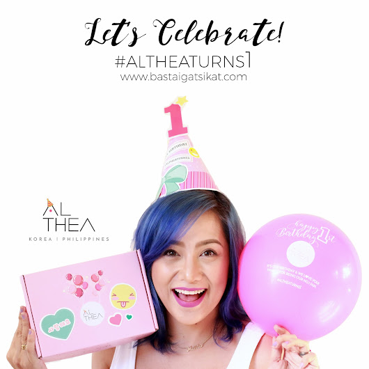 #AltheaTurns1: Happy Birthday Althea Korea! - Basta Igat, Sikat! by MyMaria