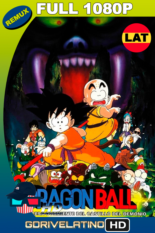 Dragon Ball: La princesa durmiente del castillo embrujado (1987) BDREMUX FULL 1080p Latino MKV