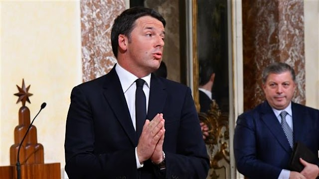 Italy's Matteo Renzi admits politicized referendum led to loss