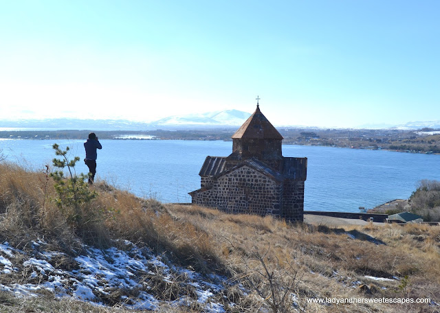photographer in Lake Sevan Armenia