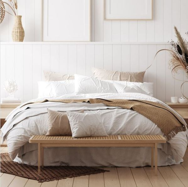 Calming bedrooms