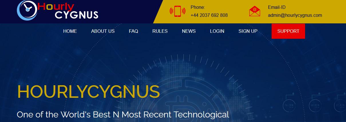 Мошеннический сайт hourlycygnus.com – Отзывы, развод, платит или лохотрон? Мошенники