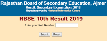 RBSE 10th Class Result 2019 Date Likely Declare Today 3 Jun