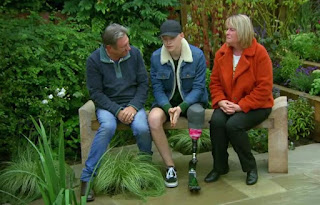 Harrison and Erica Torr and Alan Titchmarsh
