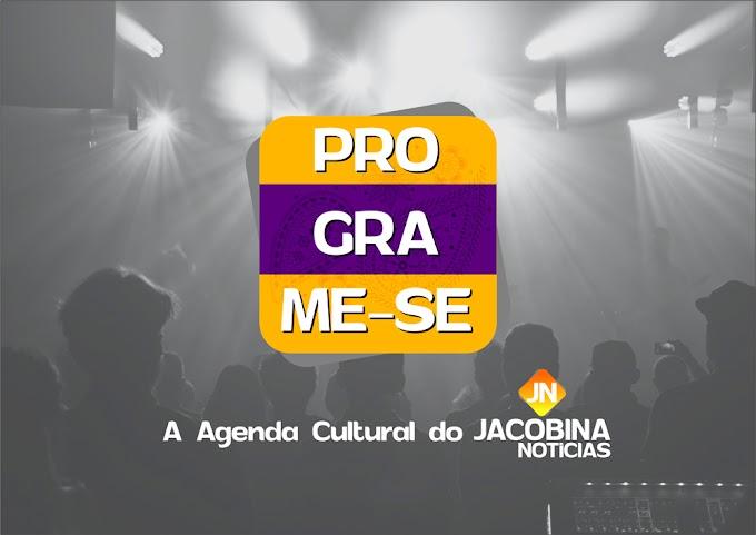 Programe-se: Confira a agenda cultural do fim de semana em Jacobina
