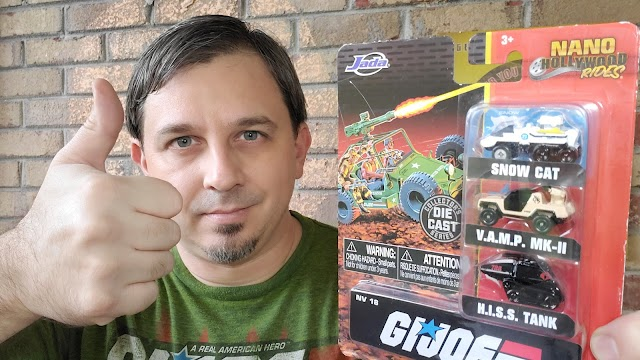 REVIEW: G.I. Joe Nano Rides by Jada Toys