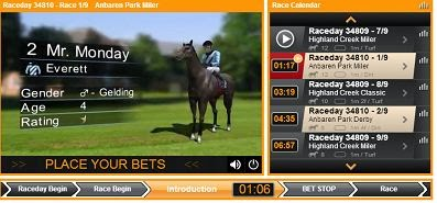 merrybet virtual horse betting