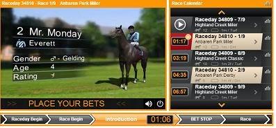 merrybet virtual horse betting
