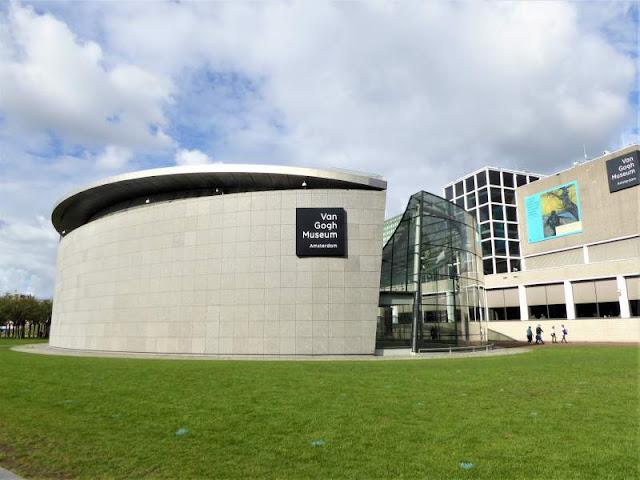 gli edifici del museo van gogh