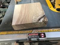 Block of oak