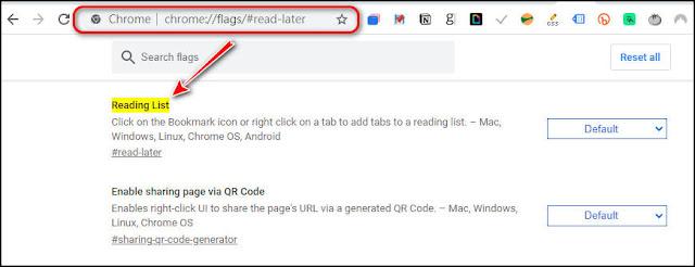 Chrome『加閱讀清單』功能啟用、使用、關閉、同步全記錄