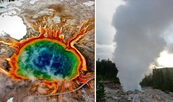 FOTOS: el gayser más grande de Yellowstone está súper activo.