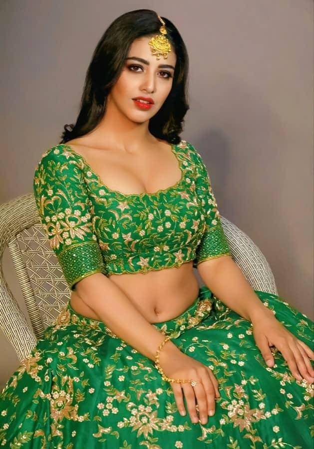 Daksha Nagarkar Hot Navel Pics Photos Stills 1