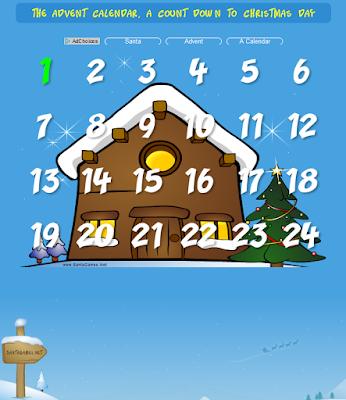 http://www.santagames.net/calendar/index.htm