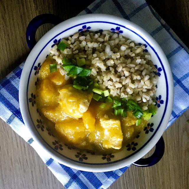 🍁 jesienne curry z dyni