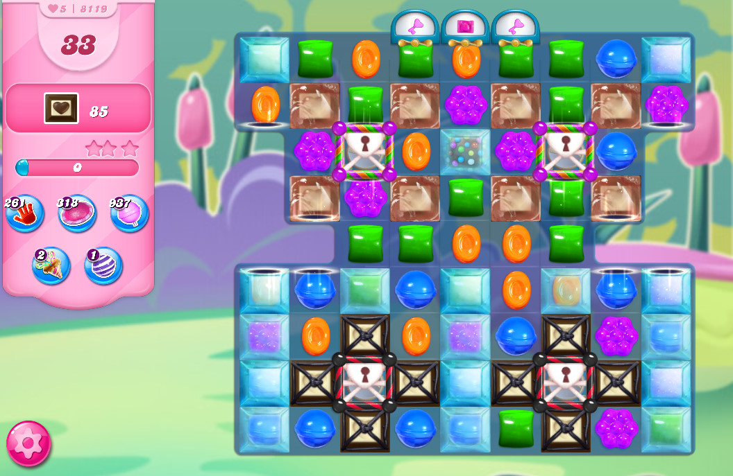 Candy Crush Saga level 8119