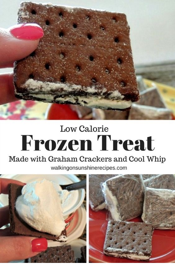 Cool Whip Frozen Graham Cracker Sandwiches