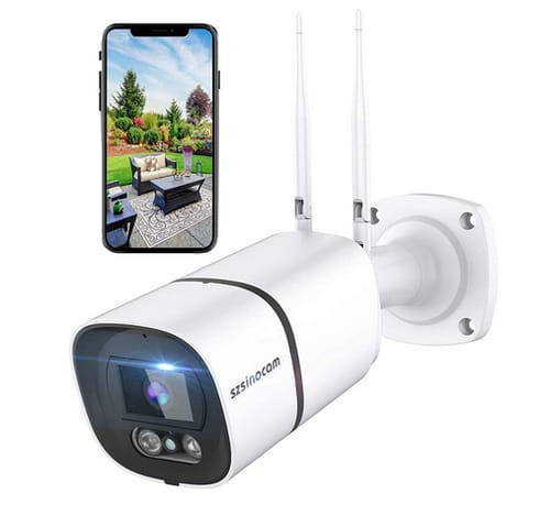 SZSINOCAM 3MP WiFi Waterproof Surveillance IP Camera