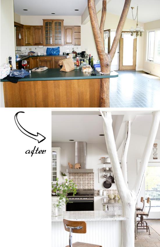 Inspiration Kitchen Transformaton Via Elle Decor Style