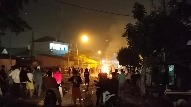 Tawuran Antarkampung Pecah di Medan Belawan, Warga Saling Serang, Gereja Nyaris Dibakar