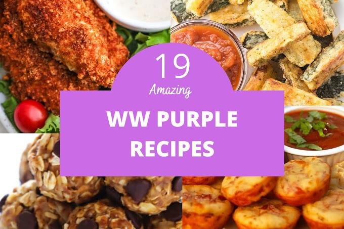 19 Best Weight Watchers Purple Plan Recipes With Smartpoints
