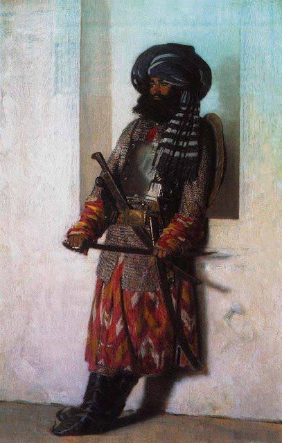 Василий Васильевич Верещагин - Афганец. 1869-1870