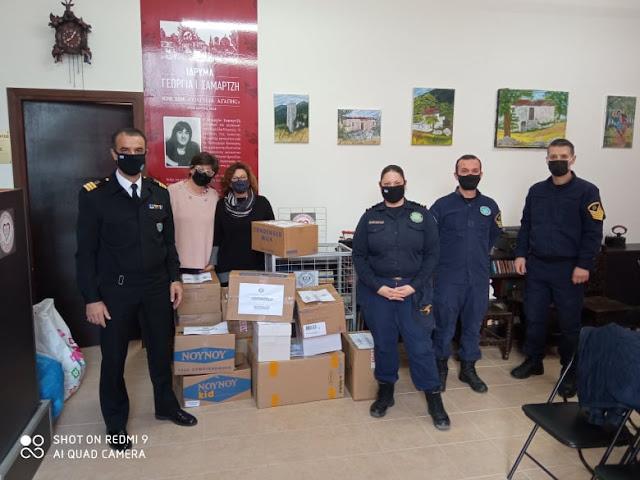 """Ευχαριστήριο από το Ίδρυμα Γεωργία Σαμαρτζή """"Πολιτεία Αγάπης"""""""