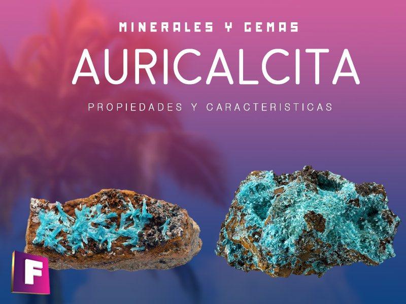 Caracteristicas principales de la auricalcita mineral