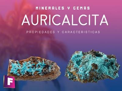 Auricalcita - Propiedades , caracteristicas y yacimientos