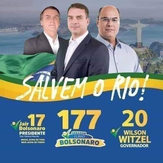 É verdade o que os Bolsonaro dizem de Witzel. É verdade o que Witzel diz dos Bolsonaro. Políticos também dizem verdades. 😉