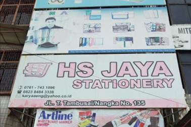 Lowongan HS Jaya Stationery Pekanbaru Januari 2019