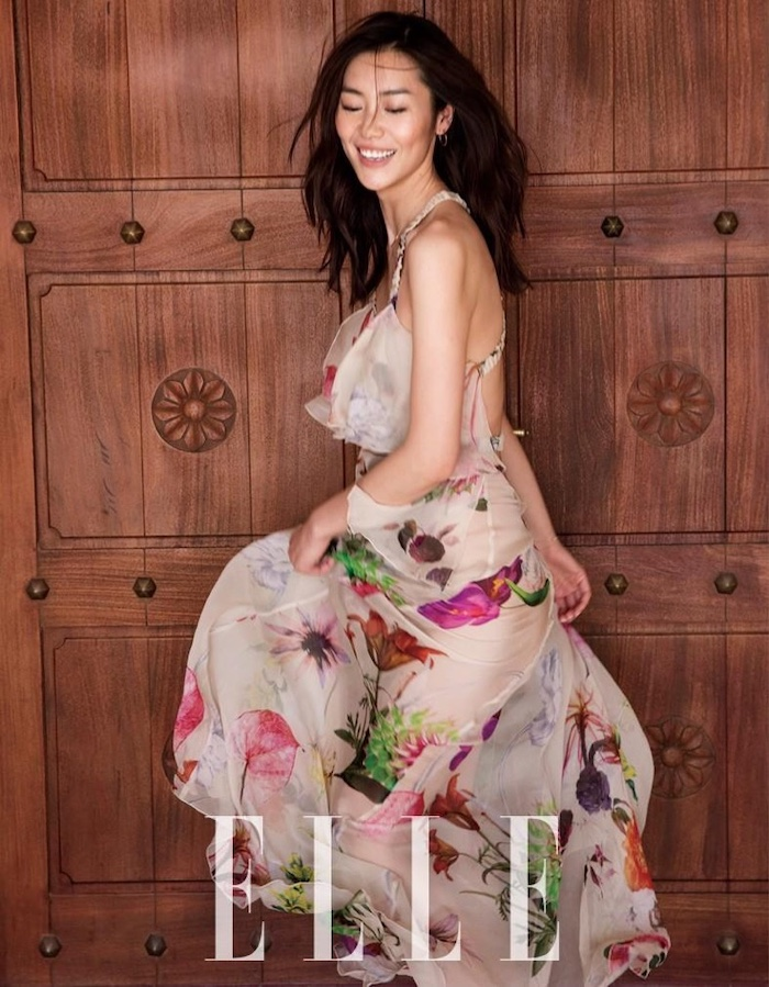 How To Live A Happier Life, Liu Wen, Elle China