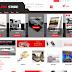 Templete website bán hàng thương mại điện tử như thế giới di động.