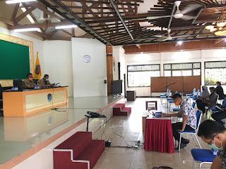 Rapat Pembentukan RT Siaga Covid 19 Tahap III Bersama Ketua RT Pada Kecamatan Tarakan Tengah - Tarakan Info