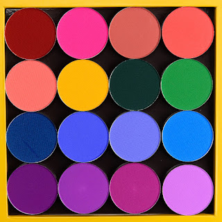 Coloured Raine Vivid Pigments