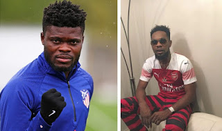 Patoranking pleads with Thomas Partey, vows to host concert if he joins Arsenal