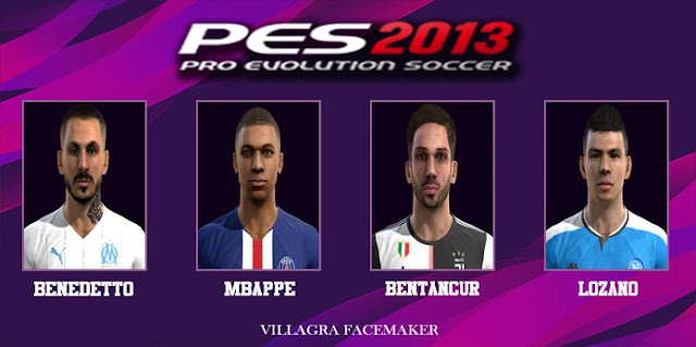 Mini Facepack Europa 2020 PES 2013