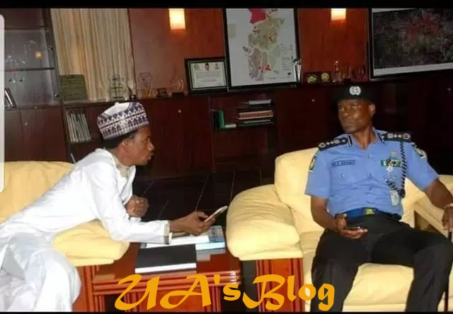 FAKE NEWS ALERT: Picture of IGP with Adamawa senator NOT recent, say police