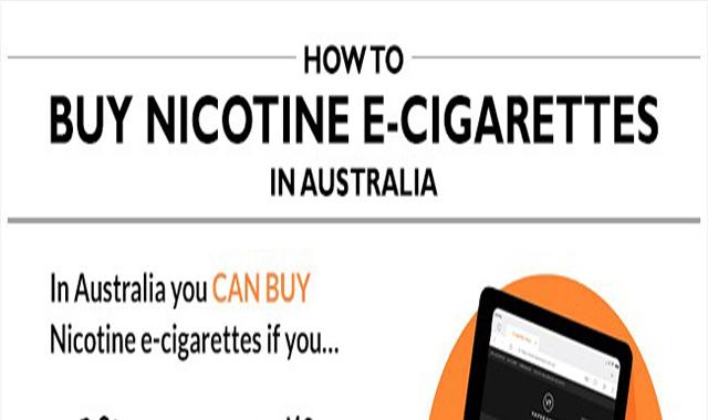 How to Buy Nicotine E-Cigarettes in Australia
