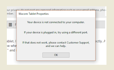 Wacom does not successfully installed