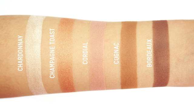BECCA Jaclyn Hill Champagne Collection Eye Palette Swatches
