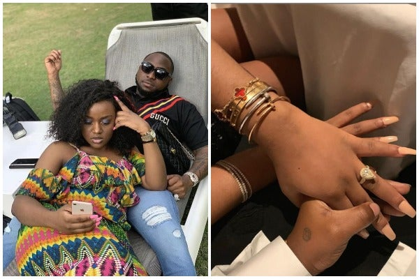 Chioma accepted Davido Proposal to marriage