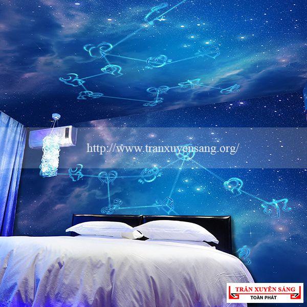 Mẫu trần phòng ngủ xuyên sáng 8