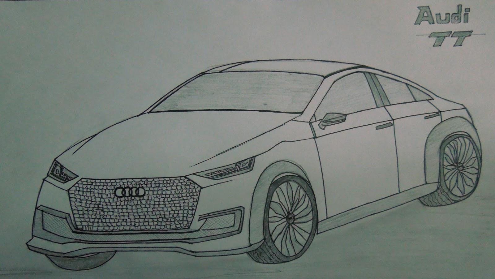 Stuff You Design: Car Sketches - Krishna Raj
